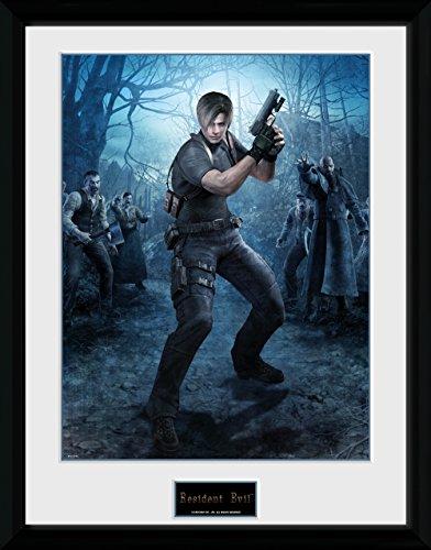 GB Eye, Resident Evil, Leon Gun, Foto incorniciata 40 x 30 cm