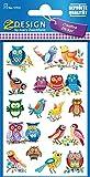 AVERY Zweckform 57512 Deko Sticker Eulen 28 Aufkleber