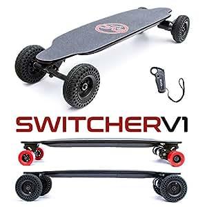 Evo-Spirit Switcher V1 - Skate électrique Convertible - Lithium 8,7A.h