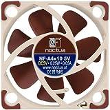 Noctua NF-A4x10 5V, Tyst Premiumfläkt, 3-Pin, 5 V-Version (40x10 mm, Brun)