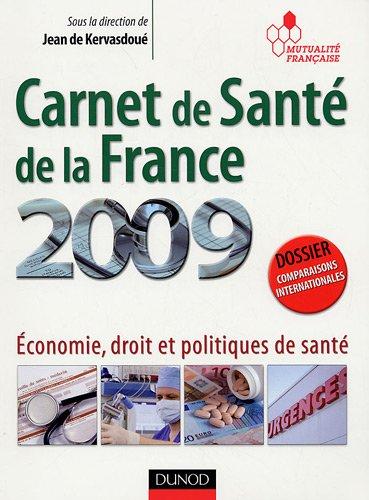 Carnet de Santé de la France : Economie, droit et politiques de santé