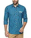 Wajbee Men's 100% Cotton Casual Shirt-XL