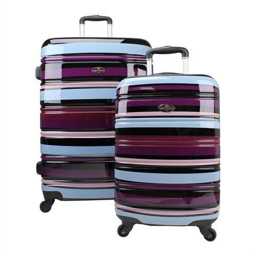Swiss Case Set de bagages SWC42PCABC Pourpre