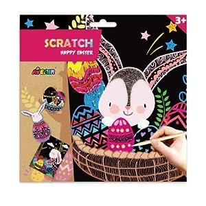 Avenir CH1648 Scratch Happy Easter, Multi