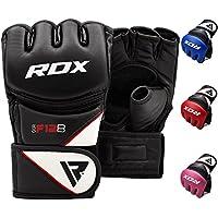 RDX MMA Handschuhe Kamfsport UFC Boxsack Sparring Training Grappling Gloves Freefight Sandsack Maya Hide Leder Punching handschuhe