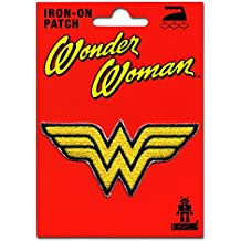 Wonder Woman Logo Parche - DC Comics Patch - Superhéroe Insignia - Diseño original con licencia - LOGOSHIRT