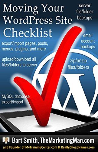 Moving Your WordPress Website Checklist (English Edition)