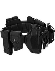 Lixada Cinturón Táctico de Ajustable Nylon Militar Utilidad Correa Kit Guardia de la Policía de Seguridad