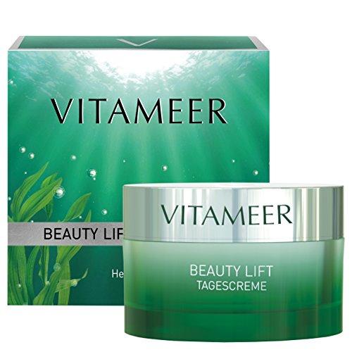 VITAMEER® Gesichtscreme für jüngere Haut, vegan, mit Meereswirkstoffen | perfekt gegen erste Fältchen | hilft, das Hautbild jung zu halten | ohne Parebene, PEG-Stoffe und Paraffine -