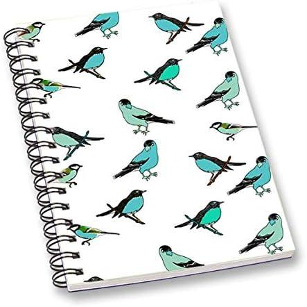 RADANYA Carnet Oiseau Blanc Imprimé Numériquement Fil Feuille Feuille Feuille De Papier Relié Feuille A5 Feuille Journal École Ou Bureau Papeterie | Impeccable  63f139