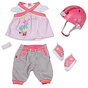 Zapf Creation 817902 - Baby born, Deluxe Safety Set mit Helm
