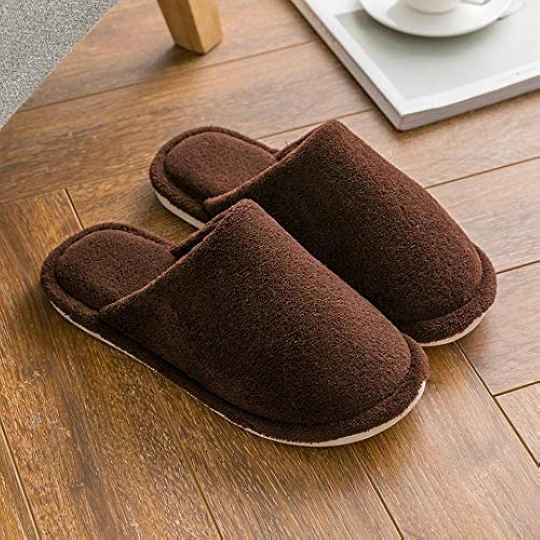 QZHE Pantofole di cotone Pantofole Casa Autunno E Inverno per Uomo E Donna Pantofole Antiscivolo in Cotone Morbido... | vendita di liquidazione  | Scolaro/Signora Scarpa