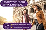OMGhotels.com - Juego de 2 interruptores Europeos de Cuatro Estrellas para Dos Personas, más de 40 destinos y más de 400 estancias, Ideal para Navidad, cumpleaños, Bodas y Ocasiones Especiales