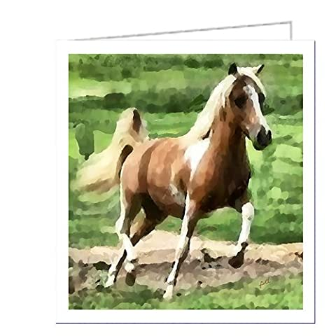 Miniature Horse - Uno - Set of 6 Notecards with Envelopes By Doggylips by Doggy Lips