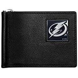 NHL Tampa Bay Lightning Leather Bill Clip Wallet