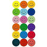 180 Bunte Smiley Face Stickers ø 2cm - Lächlen - Freude - Belohnung