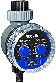 Aqualin Garden Watering Timer Ball Valve Automatic Electronic Water Timer Home Garden Irrigation Timer Control