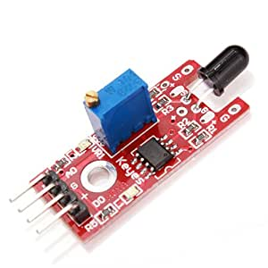 Flame Detection Sensor Module KY-026 Flame Sensor Module Red Arduino