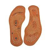 Anself Semelle Intérieure Orthèses Magnétique Thérapie de Soins de Santé Massage des Pieds Semelles Hommes/Femmes Chaussures