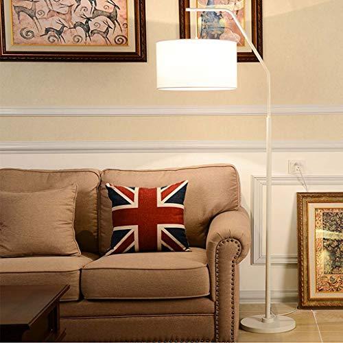 AJZGFLámpara de pie clásica Lámpara de pie de pesca nórdica, sala de estar, sofá, dormitorio, lámpara de noche, personalidad creativa IKEA lámpara de mesa posmoderna Iluminación interior (color : B)