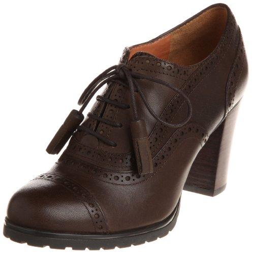 Geox Donna Trish ABX D24Y1R00043C6009, Scarpe col Tacco Donna, Marrone (Braun (Coffee C6009)), 38