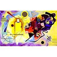 Wassily Kandinsky 1925, colore: giallo/rosso/blu
