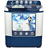 Intex 7.2 kg Semi-Automatic Top Loading Washing Machine (WMSA72DB, Dark Blue)