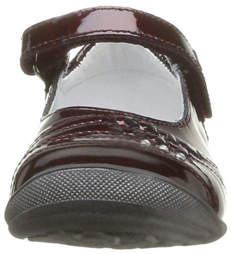 GBB Doreen, Chaussures basses fille Marron (37 Vvn Bordo)