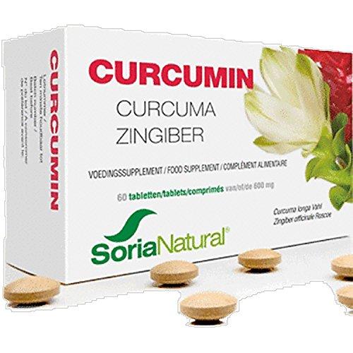 Curcumin Ingwer Tabletten, 60 Stk.