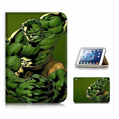 (für iPad Mini 123, Generation 1/2/3) Flip Case Cover & Displayschutzfolie Bundle-a21161Hulk (Ipad Case 3 Hulk)