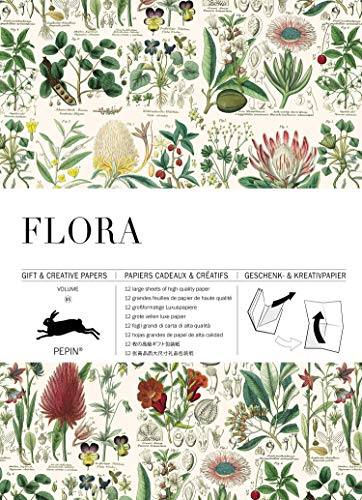 Flora: Gift & Creative Paper Book Vol. 85 (Gift & creative papers (85))