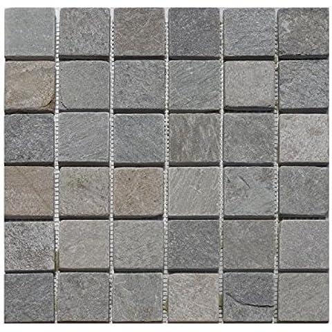 1Red piedra natural mosaico cuarcita Beige 48