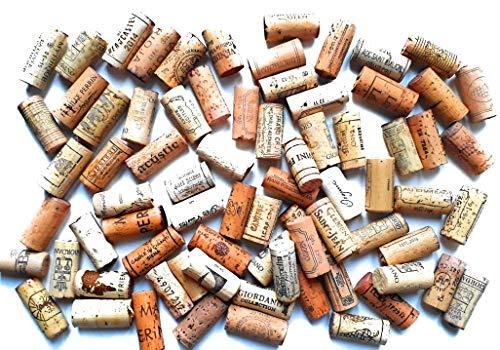 50 gebrauchte Weinkorken zum Basteln (Korken Flaschenkorken Naturkorken Kork Upcycling)