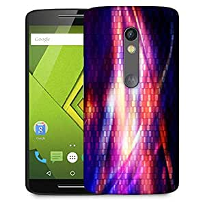 Snoogg Digital Groove Designer Protective Phone Back Case Cover For Moto G 3rd Generation