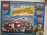 LEGO CITY SUPERPACK 4in1 66326 ALARM, ALARM
