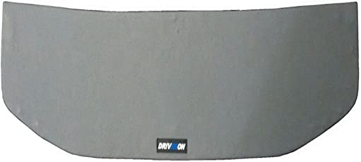 """KUV 100 Car Rear Parcel Tray for mounting 6"""" Round & 6x9 Oval Speakers."""