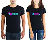 LaCrafters Couple tshirt - Together Fore...