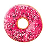 Donutkissen Weiche Plüsch Kissen Stuffed Sitz Pad Süße Donut Lebensmittel Kissenbezug Fall Spielzeug 40 x 40 LuckyGirls (E)