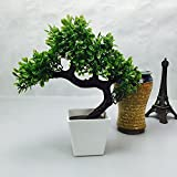 #9: Hyperboles Artificial Plants Guest Greeting Pine Bonsai home decoration