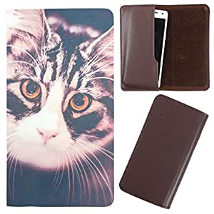 DooDa - For Samsung S Advance PU Leather Designer Fashionable Fancy Case Cover Pouch With Smooth Inner Velvet