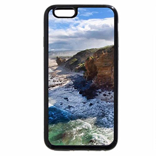 iPhone 6S / iPhone 6 Case (Black) wonderful wild coastline