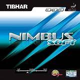 Tibhar Belag Nimbus Soft, schwarz, 1,8 mm