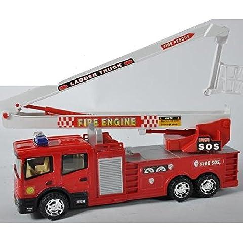 Camion dei pompieri FIRE TRUCK GRAND FIRETRUCK FRICTION 45CM