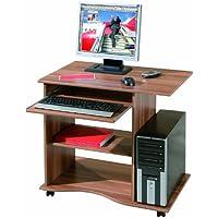 Links - Office 7 , mini ufficio con ruote noce