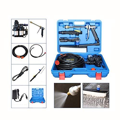 Elektrische Auto-Waschmaschine, Hochdruckautowäscher-Pumpe, 12V 80W elektrische Waschmaschinen-Pumpen-Waschmaschinen-Gerät für Auto, Haustier, Fenster (Elektrische Waschmaschine Druck)