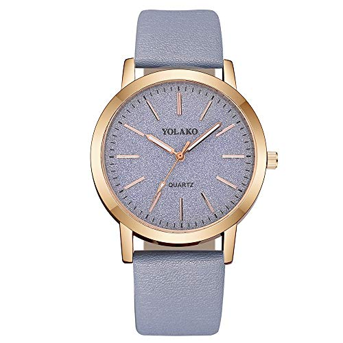 koperras Women Collection Wrist Watch,Women's Casual Quartz Leather Band Sky Analog Watch