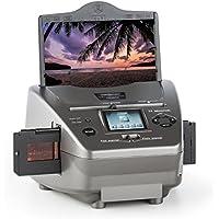oneConcept Combo Scanner 979GY • Scanner per Diapositive e Pellicole • SD • USB • 14MP • Sensore CMOS • Display LCD • Editing • Menù Multilingua • Riprodizione su PC • Colore Grigio