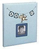 Ideal ABC Fotoalbum 29x32 cm 60 Weiße Seiten Kinder Baby Foto Album Fotobuch: Farbe: Blau