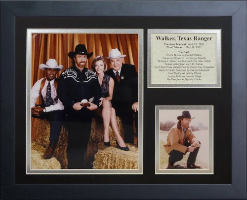 Legends Never Die Walker Texas Ranger, Rahmen für Foto-Collage, 11 x - Texas Ranger-foto Walker