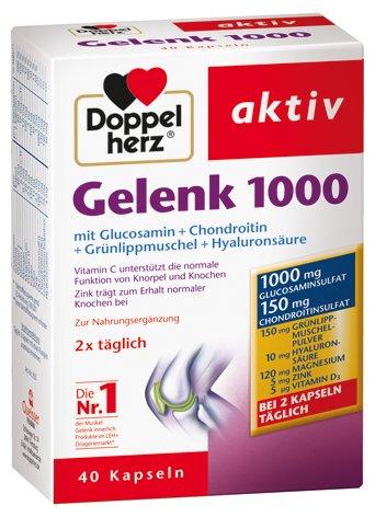 Doppelherz aktiv Gelenk 1000, 4er Pack (4 x 40 Kapseln)